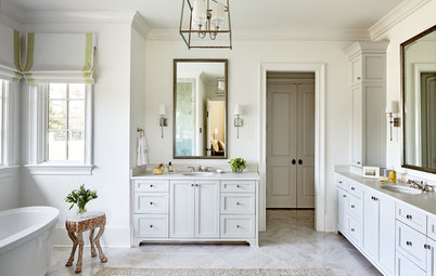 10 Ways to Work a Two-Sink Bathroom