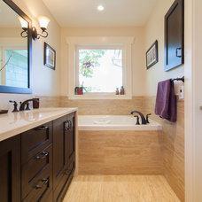 Traditional Bathroom by Kenorah Design + Build Ltd.