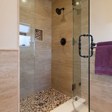 Craftsman Bathroom by Kenorah Design + Build Ltd.