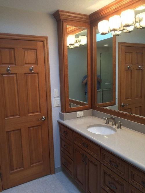 portland bathroom design ideas renovations photos with louvered