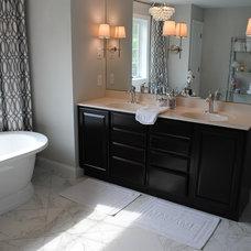 Contemporary Bathroom by Karen Viscito Interiors