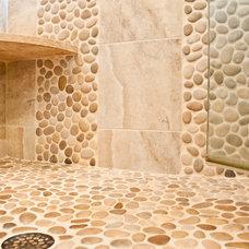 Eclectic Bathroom by Rittenhouse Builders