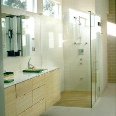 Contemporary Bathroom by La Nova Tile Importers