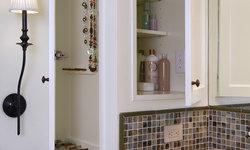 Medicine Cabinet and Jewelry Storage