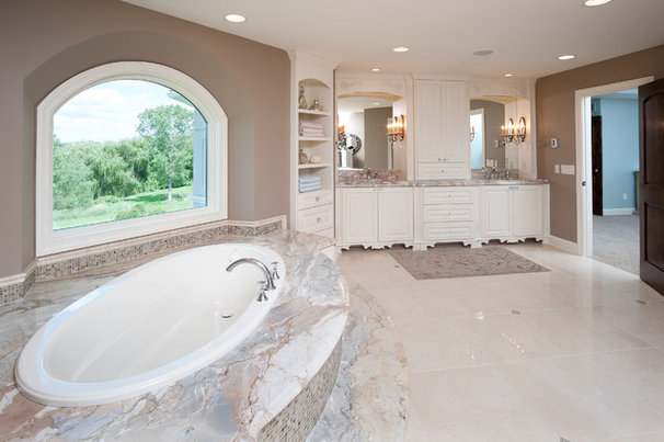 Traditional Bathroom by Schrader & Companies