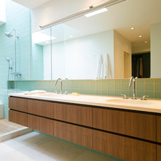 Contemporary Bathroom by SHED Architecture & Design