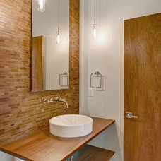 Contemporary Bathroom by Robertson Homes / The 4TH Design