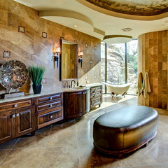 mediterranean bathroom by Soloway Designs Inc.