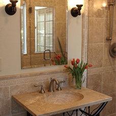 Mediterranean Bathroom by ds design studio