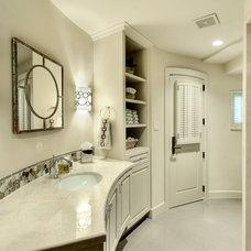Mediterranean Bathroom by Allan Edwards Builder Inc