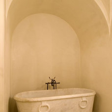 Mediterranean Bathroom by Allan Edwards Builder Inc