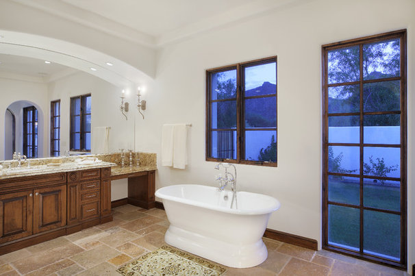 Mediterranean Bathroom by Carson Poetzl, Inc.