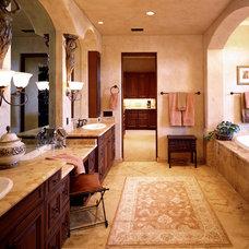 Mediterranean Bathroom by Denise Stringer Interior Design