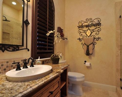 inspiration for a mediterranean bathroom remodel in sacramento - Decorative Towels