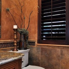 Mediterranean Bathroom by Deborah Costa