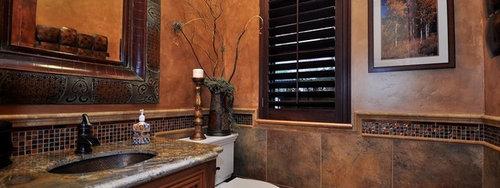 Mediterranean Sacramento Bathroom Design Ideas, Remodels & Photos