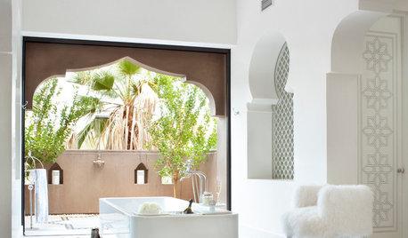 14 salles de bains prennent des airs de hammams