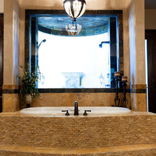 Mediterranean Bathroom master bath indoor courtyard