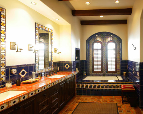 Inspiration For A Mediterranean Bathroom Remodel In Los Angeles
