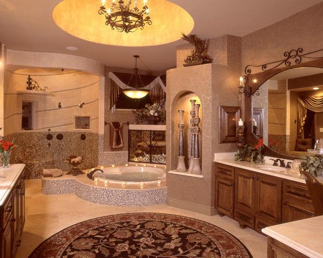 Mediterranean Bathroom by Stadler Custom Homes