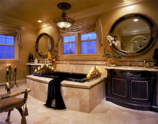 Mediterranean Bathroom by Martin King Photography