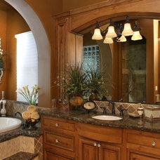 Mediterranean Bathroom by Milestone Studio