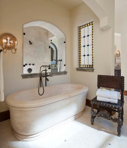 Mediterranean Bathroom by Phillip Jennings Custom Homes