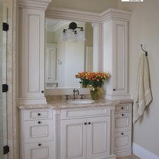 Mediterranean Bathroom by San Luis Kitchen Co.