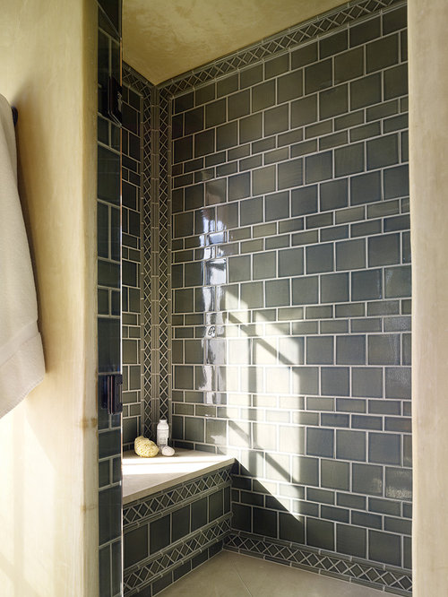 Shower tile pattern design ideas remodel pictures houzz Shower tile layout