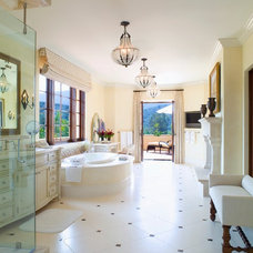 Mediterranean Bathroom by Smith Firestone Associates