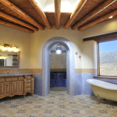 Mediterranean Bathroom by Statements Tile
