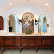 Mediterranean Bathroom by Martin ARchitecture