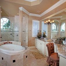 Mediterranean Bathroom by Weber Design Group, Inc.