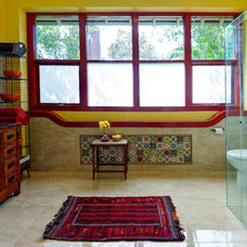 Mediterranean Bathroom by Better Bathrooms & Kitchens