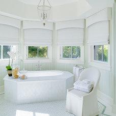 Mediterranean Bathroom by Tomaro Design Group