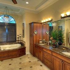 Mediterranean Bathroom by Decker Ross Interiors