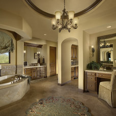 Mediterranean Bathroom by Gina Spiller Design