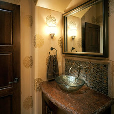 Mediterranean Bathroom by Curt Hofer & Associates