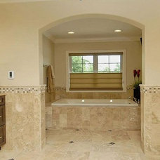 Mediterranean Bathroom by BlueSky Custom Homes