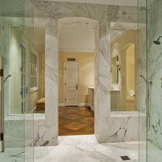 Mediterranean Bathroom by Cal Christiansen & Company