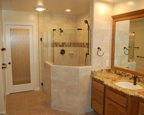 Medium size bathroom home design ideas renovations photos for Mid size bathroom ideas