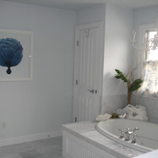 Traditional Bathroom by Megan Smythe Design