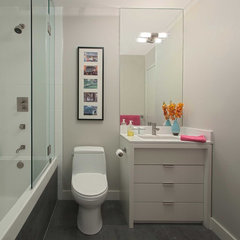 modern bathroom by Meghan Carter Design Inc