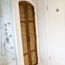 Mediterranean Bathroom by Pure Bliss Creative Design