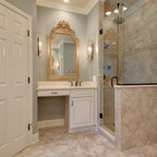 Classic cupboards bathroom design for Kitchen and bath design melrose park