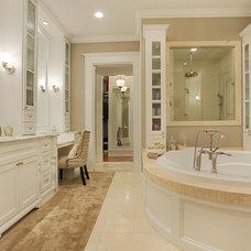 Traditional Bathroom by Brickmoon Design