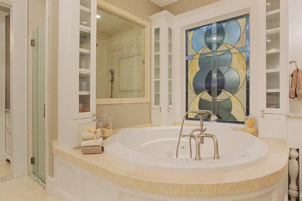 American Traditional Bathroom by Brickmoon Design