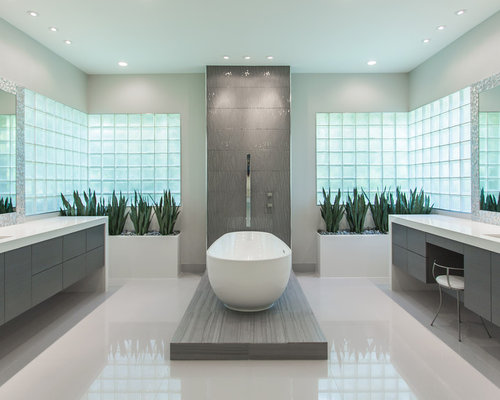 Save. Memorial Modern Master Bath Remodel | Houston, TX ...