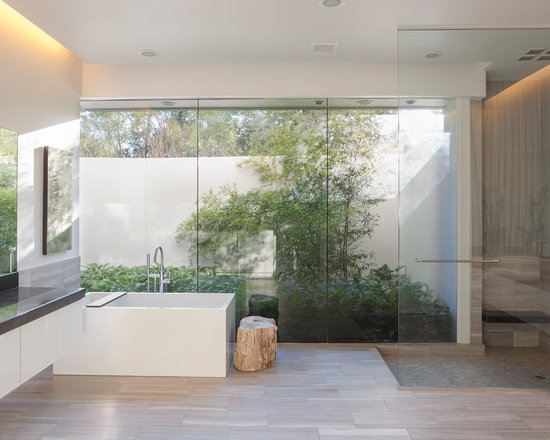 garden tubs with shower bathroom design ideas, remodels & photos