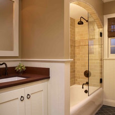 Traditional Bathroom by Holly Durocher Design